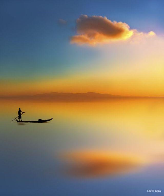 boatman cloud of water