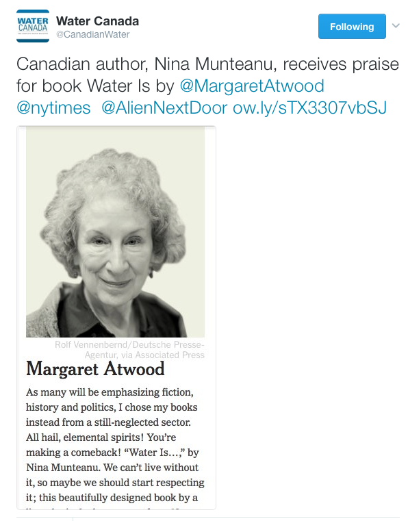 atwood-wateris-water-canada-tweet