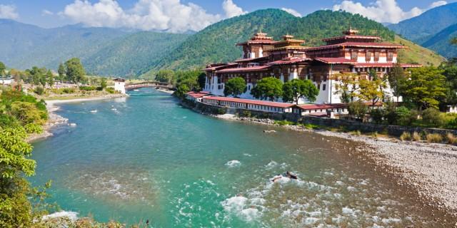 Bhutan-river