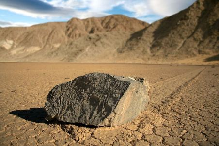 racetrack playa-stone