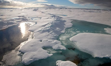 Melting-ice-in-the-Arctic