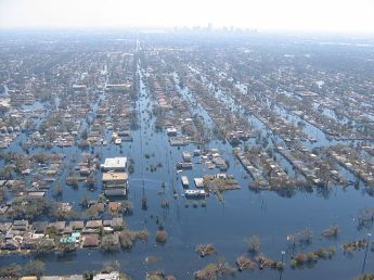 NewOrleans flood after levee break