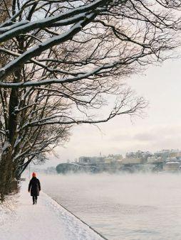 winter walk-stockholm