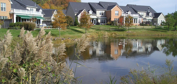 stormwater pond Maryland