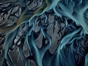 Iceland's Thjórsá River-EdBurtynsky