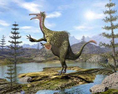 dinosaur-giant horsetails