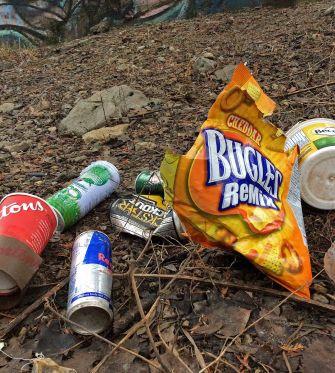 rouge-trash at bridge