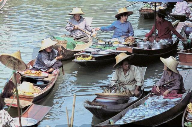Bangkok-floating market3