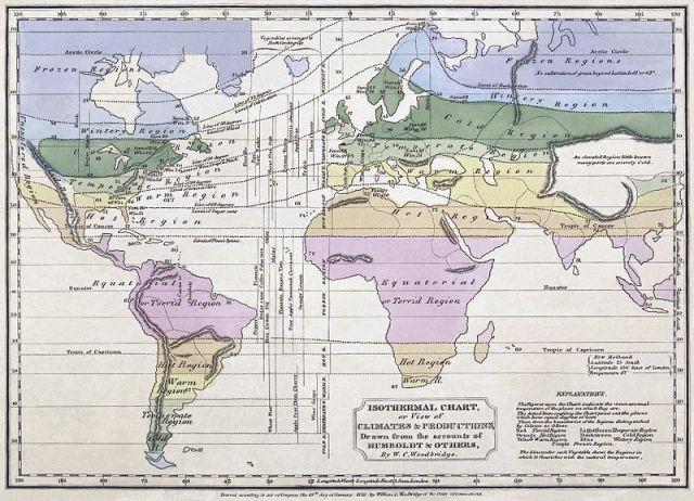 isothermal map Humboldt