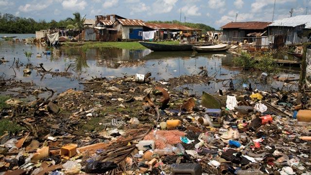 Mekong pollution