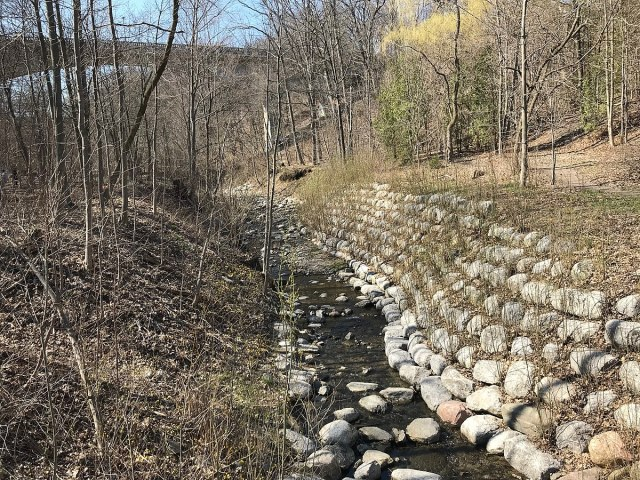 Mud Creek bank stabilization