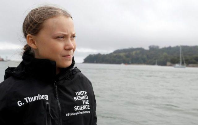 Greta on boat2