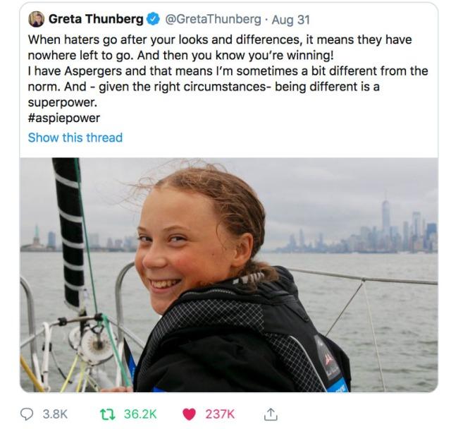 GretaThunberg-Tweet