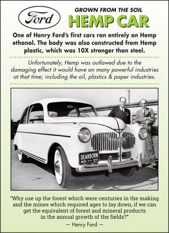 Ford HempCar ad