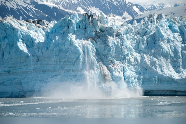 chasing ice alaska calving