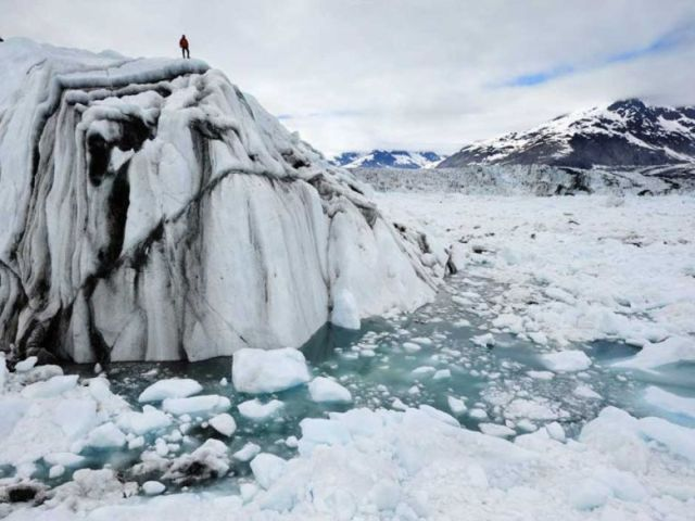 chasing-ice man on top